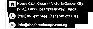 The Photo Lounge Address